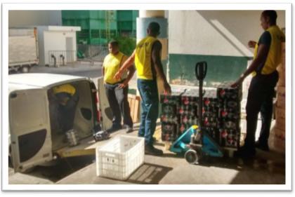 Reoganização do almoxarifado e logística interna - 2